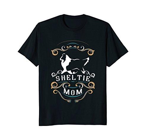 Sheltie Mom   Shetland Sheepdog T-Shirt