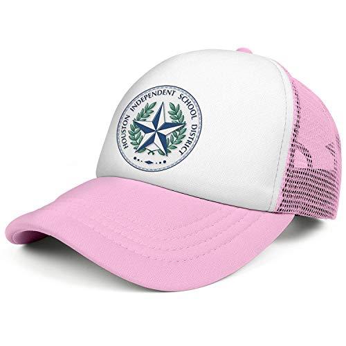 ZWZHI Houston Independent School District Mesh Snapback Hats Unisex Classic Adjustable Dad Caps ()
