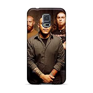 Samsung Galaxy S5 IBH3129rPsa Unique Design Trendy Avenged Sevenfold Pattern Shockproof Hard Cell-phone Cases -AlainTanielian