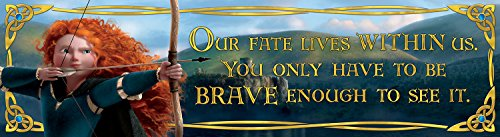 Eureka Brave, Classroom Banner, Our Fate Lives, 12 x 45""