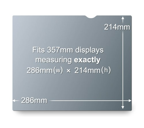 3M Privacy Filter for 14.1 inches Standard Laptop - (PF141C3B)