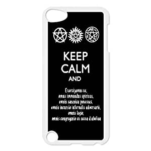 Supernatural Quotes Phone Case for Ipod Touch 5,diy Supernatural Quotes phone case