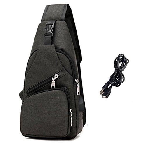 Sling Bag Shoulder Crossbody Chest Backpack Men Women...