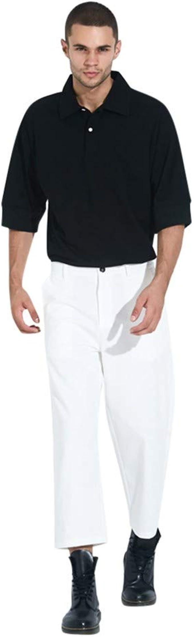 Pantalones Anchos De Moda para Hombre, Moda Casual ...