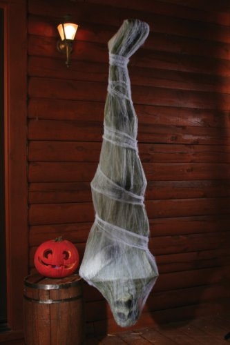 [72 inch Cocoon Corpse Decoration] (Halloween Animatronics)