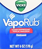 Vicks VapoRub Ointment 6 oz (Pack of 1)