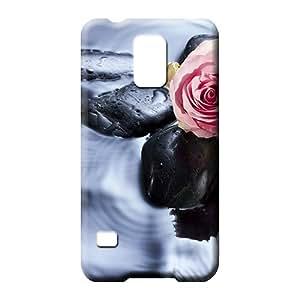 samsung galaxy s5 Heavy-duty PC High Grade phone skins wait love rose
