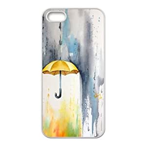 Yellow Umbrella DIY Hard Case for iPhone ipod touch4 LMc-9889ipod touch4 at LaiMc