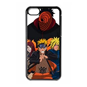 iPhone 5c Cell Phone Case Black road to ninja by narutocolor W6L6WR