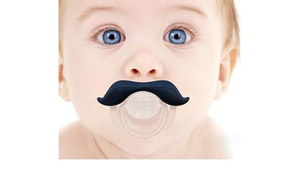 Babypro ?® - Gentleman Bigote Chupete de bebé - Bpa chupetes ...