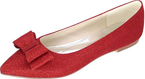 Donna Find Find Nice Nice Red Balletto Iz7nxwaOqT