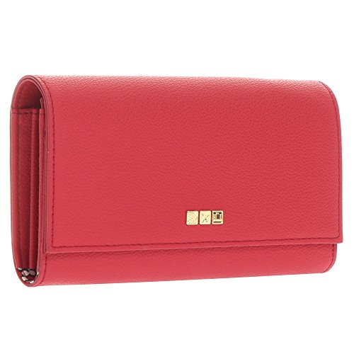 Flight 001 Travel Organizer Wallet, Red