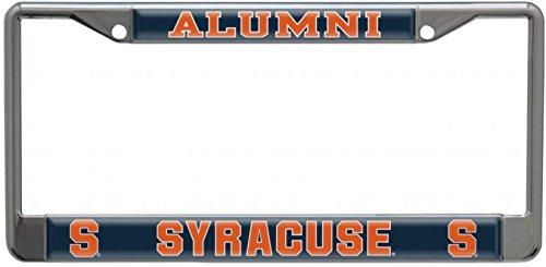 Stockdale Syracuse Orangemen Alumni License Plate Frame In Chrome