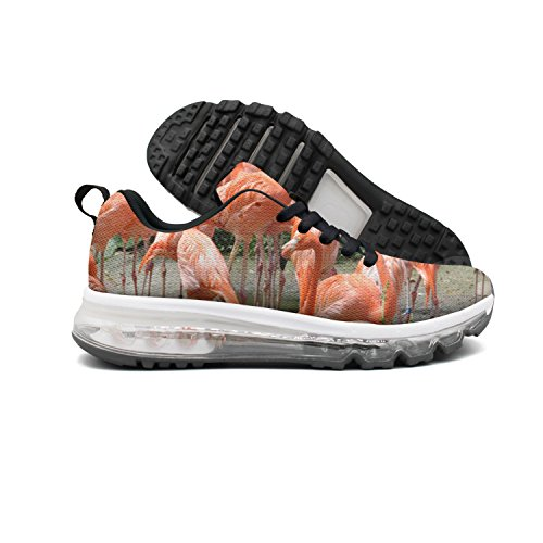 Euuair Womens Jungle Island Flamingo Cuscino Daria Fitness Scarpe Casual Running Running Sneakers