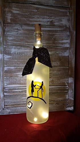 (Nightmare Before Christmas Wine Bottle/Jack and)