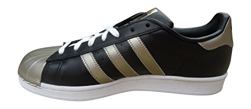 Adidas Originelen Superstar Metallic Pack Heren Sneakers Sneakers Schoenen (us 9.5, Cblack / Cybemt / Ftwwht S81727)