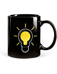 Lightbulb Thermostat Color Change Coffee Mug Tea Cup