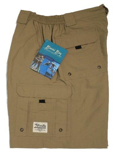- Bimini Bay Outfitters Boca Grande Nylon Short (40, Khaki) X-Large