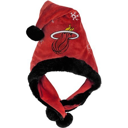 NBA Thematic Headwear Santa Hat Miami Heat (Hat Santa Thematic)