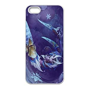 iphone5 5s White phone case Riki Dota 2 DOT8673693