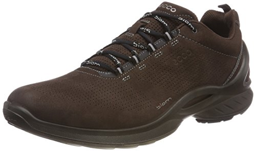 ECCO Men's Biom Fjuel Train Walking Shoe, Mocha, 46 M EU (12-12.5 US)