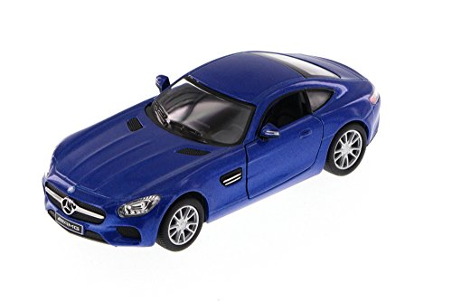 Mercedes-Benz AMG GT, Blue - Kinsmart 5388D - 1/36 Scale Diecast Model Toy - Replica Diecast Car Diecast