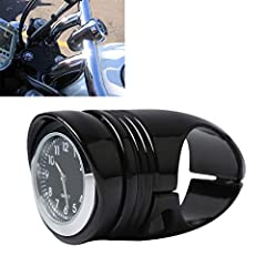 """FEATURE: Aftermarket 100% brand new Color: Black Material: High quality Billet Aluminum  Installation instructions not included.       FITMET: Fits most of the motorcycle / cruiser / chopper / custom with 1 1/4"""" handlebar.       PACKAG..."""