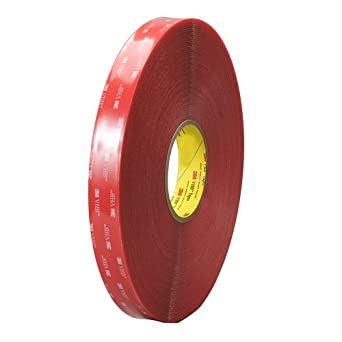 TapeCase 3.5 in Width x 36 yd Length, Converted from 3M VHB Tape 4910  (1 Roll)