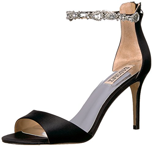 Black Heeled Women's Sindy Badgley Sandal Mischka XTq6R