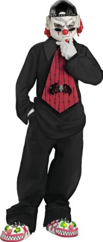 Street Mime Costumes (Street Mime Costume - Child Costume - Medium (7-8))