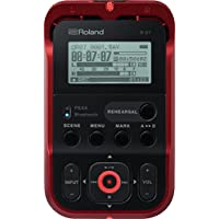 Roland High-Resolution Handheld Audio Recorder (Red)