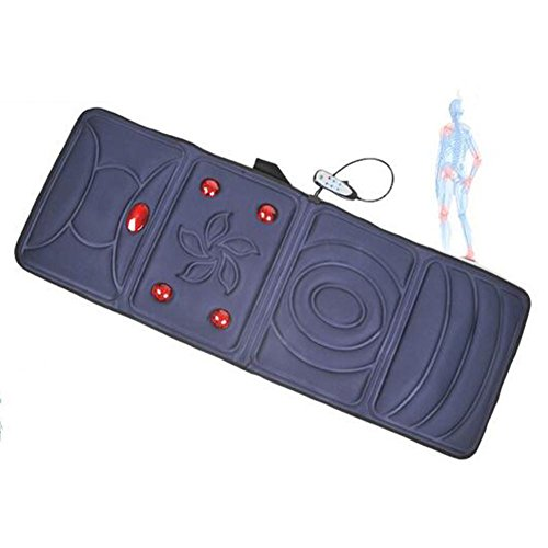 LPY-Multifunctional Massage Mattress Heating Can Be Timed Cervical + Neck + Back + Thigh + Calf Body Massage To Relieve Body Pain ?Blue? by Neck Protector (Image #3)