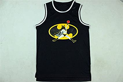 f368011a2e1 Black Batman Jordan Basketball Jersey NO.23 Jordan Basketball Jersey-2XL