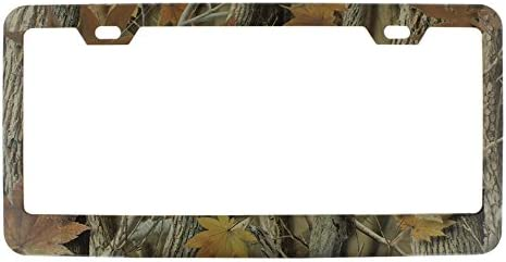 United Pacific 50047 Industries Foliage Camo License Frame