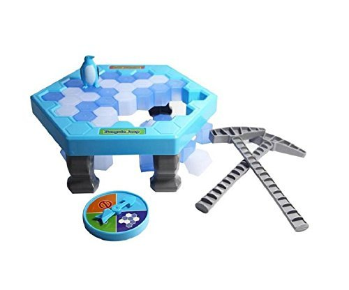 Ice Breaking Game (Mini set)- The One Who Make The Penguin Fall Off , The Will Lose This Game