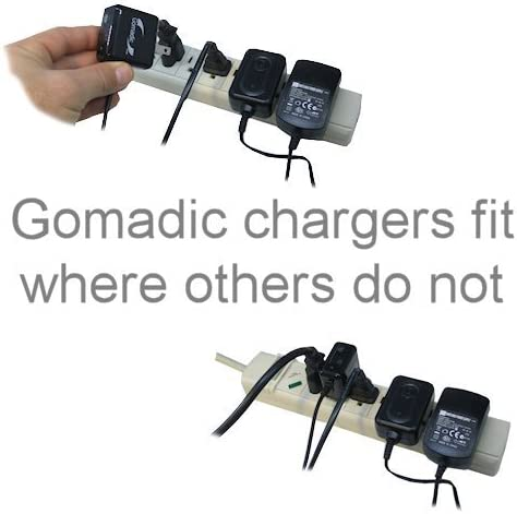 Gomadic High Output Home Wall AC Charger Designed for The Nikon Coolpix S30 with Power Sleep Technology Intelligently Designed with Gomadic TipExchange