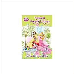 Disney Rengarenk Prenses Dünyası çıkartmalı Boyama Kitabı Kolektif