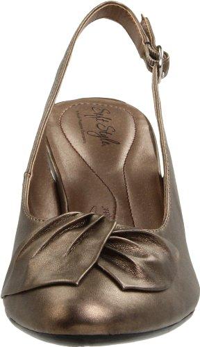 Hush Puppies Pretty Pleats - Zapatos destalonados de sintético mujer