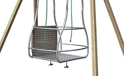 kidunivers - Columpio especial silla con ruedas (niños y adultos: Amazon.es: Jardín