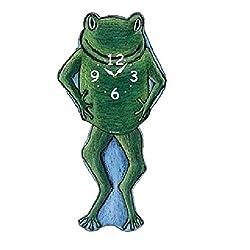 Frog Pendulum Wall Clock