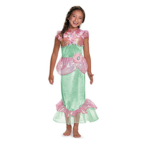 Disguise 84084L Mermaid Costume, Small (4-6x) ()