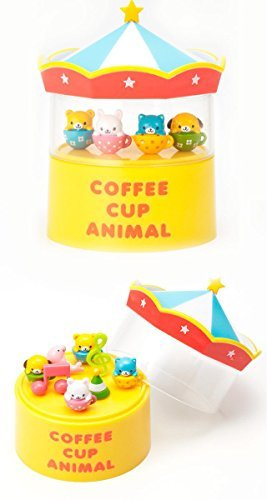 Cute Animal Food Pick 4 Pieces and a Pick Case by Torune