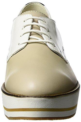 Tosca Blu Cuba Libre, Zapatos de Cordones Derby para Mujer Blanco (Bianco)