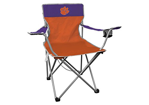 Chair Folding Tailgating Tailgate (Rawlings NCAA Portable Folding Kickoff Chair with Cup Holder and Carrying Case)