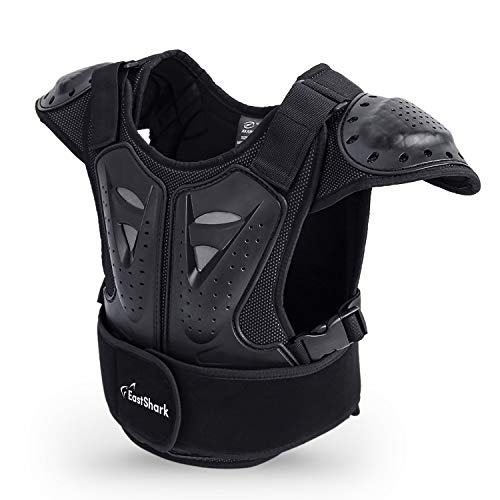 Kids Dirt Chest Spine Protector Body Protective Vest Gear for Bike Motocross Snowboarding Skiing