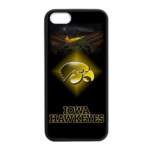 - Stadium NCAA Iowa Hawkeyes Apple Iphone 5S/5 Case Cover TPU Laser Technology Football For guys girls