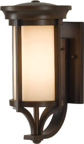Murray Feiss OL7501HTBZ, Merrill Outdoor Wall Sconce Lighting, 60 Total Watts, Bronze