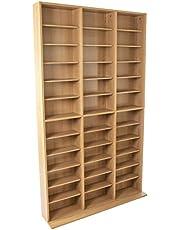 Atlantic Oskar 1080 CD Multimedia Storage Cabinet