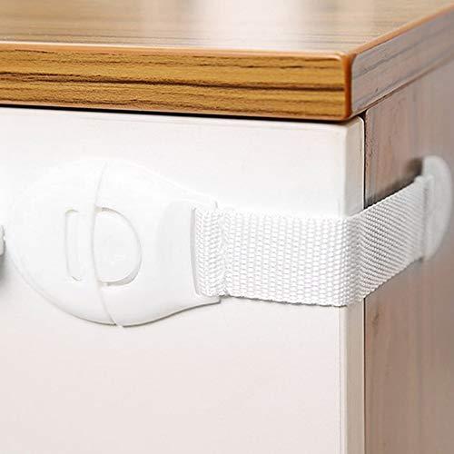 BFHCVDF Children Anti Open Drawer Lock Multifunction Baby Anti Pinch Hand Cabinet Lock