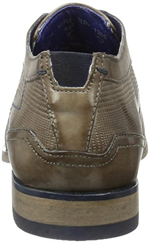 Zapatos Derby Hellgrau 1200 Hombre para de Cordones 312105071100 Bugatti Grau qIw7HH